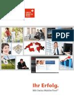 Swiss MaklerTool Broschüre