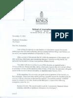 Info Receipt Letter