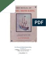 New Manual of Model Shipbuilding