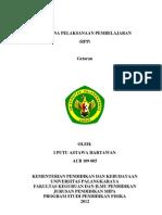 RPP Getaran SMP