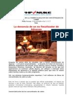 EL NEGOCIO NEGRO DE LA COMERCIALIZACIÓN DE CONCENTRADOS DE COBRE