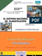 Sistema de Planificación Nacional - Presentacion power  marzo 2009