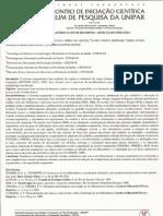 SISTEMA RESPIRATÓRIO  E O ENVELHECIMENTO - REVISÃO DA LITERATURA
