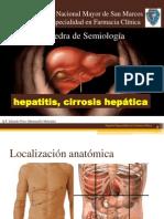 Hepatitis y Cirrosis hepática