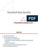 PeopleSoft Base Benefits
