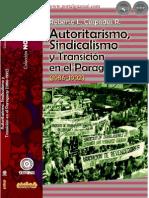 AUTORITARISMO, SINDICALISMO Y TRANSICION EN EL PARAGUAY - 1986 1992 -  - Portalguarani