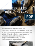 MATERIALES BITUMINOSOS