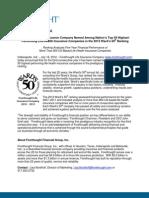 Press Release July 2012