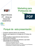 Marketing Para Profesores de Tenis