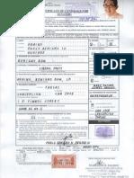 AQUINO IV, Paolo Benigno (Certificate of Candidacy for Senator) #ELEKSYON2013