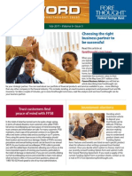 Trust Firm Quarterly Newsletter - July 2011