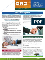 Trust Firm Quarterly Newsletter - January 2012