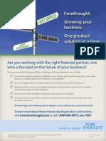 Growing Your Business Flatsheet - Lead Generation