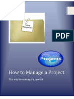 How to Manage a Project  [Project Management]