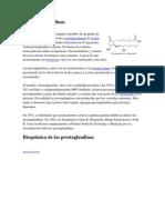 Las Prostaglandinas