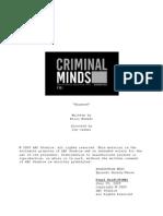 Criminal Minds 5x02 - Haunted