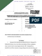 Criminal Complaint against BP
