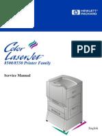 Color Laserjet 8500, 8550 Service Manual