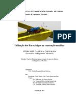 Dissertação _ utili. eurocodigos construção metálica