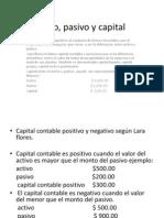 Activo, Pasivo y Capital