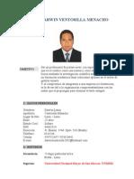 CV darwin