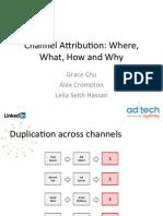 Ad Tech Channel Attribution