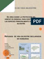 Refugios de Vida Silvestre declarados en Honduras