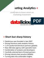 ANZ Marketing Analytics