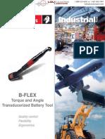 Desoutter B-Flex Transducerized Torque and Angle Tool Catalog