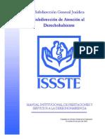 Manual Institucional de Presaciones y Servicios Del ISSSTE