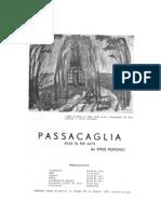 Titus Popovici - Passacagalia