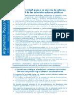 2012_11_08 Reforma Administraciones Públicas. Desahucios
