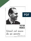 Victor Frunza - Ursul cel mare de pe perete