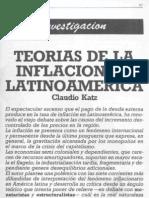 Katz, C. - Teorías de la inflación en Latinoamérica