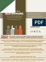 (2) Presentación Ponencia Gestión del Conocimiento en el Cluster Salud (GoNaBe_ Noviembre 08 y 09 de 2012)