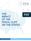 Pew Report on Fiscal Cliff