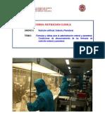 Formulas y dietas para la administración enteral (lectura)