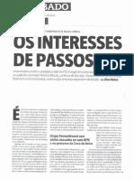 Revista Sabado 11FEV2010 - ''Os Interesses de Passos''