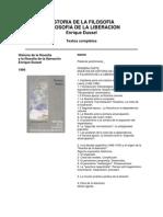 25083755 Dussel Enrique Historia de La Filosofia y Filosofia de La Liberacion 1994