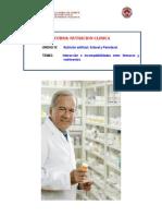 Interacción e incompatibilidades enter fármacos y nutrimentos