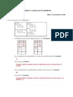 CERTAMEN No1 R Leng Programacion 1 Sep 2009