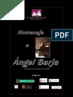 Homenaje a Ángel Barja