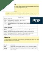 Componentes Del SQL
