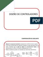 DISEÑO DE CONTROLADORES-COMPENSACION EN ADELANTO