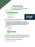 Act. 1 Revision de Presaberes - Fundamentos de Economia