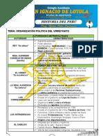 Ficha 41 - Organizacion Politica Del Virreynato