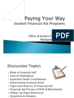 Paying Your Way 2013-2014 From Financial Aid Meeting @ AEHS