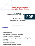 3. Approach in Transforming the Safety Culture