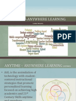 Anytime-Anywhere Learning Presentation
