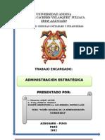 Administracion Estrategica - Primera Fase de La Planeacion Estrategica
